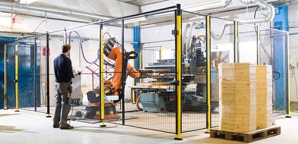 Produktbeispiel Maschinenschutzsystem